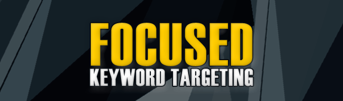 keywords targeting