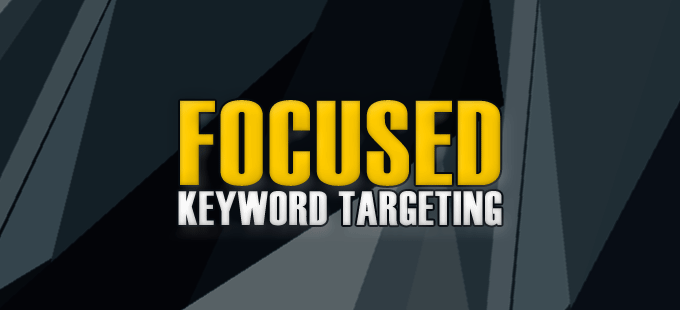 targeting the right keywords for high traffic